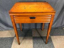 EMPTY VINTAGE SINGER SEWING MACHINE CABINET TABLE 301 401 403 404 503 MIDCENTURY