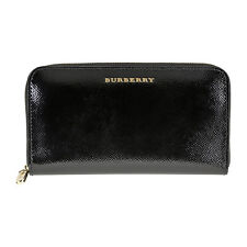 Burberry Elmore Patent London Leather Ziparound Wallet 3930395