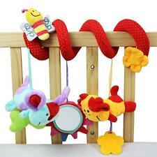 0+Baby crib revolves around the bed stroller toy car lathe hanging baby rattles