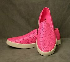 Under Armour DJ Pink Leather Slip ons (12 M) - NEW