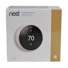 New Nest Learning Thermostat 3rd Generation WiFi Universal T3017US White