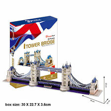 Tower Bridge London 3D Jigsaw Puzzle Decorative Scale Model Monument Building