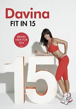 Davina - Fit in 15 [DVD] [NEW] [FREE 24H P&P]