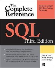 SQL The Complete Reference, 3rd Edition, James Groff, Paul Weinberg, Andrew J. O