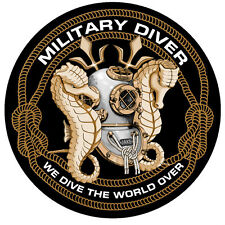 NEW DESIGN MILITARY DIVER DECAL & DAWGs DECAL