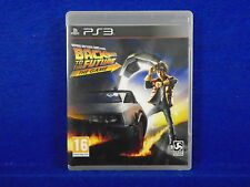 ps3 BACK TO THE FUTURE The Game New Adventure with Doc and Marty Playstation PAL