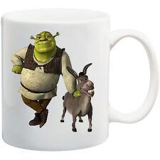 PERSONALISED MUG *SHREK & Donkey  ANY NAME  TEXT * CHRISTMAS* GIFT birthday