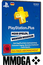 PlayStation Plus - PlayStation Network 365 Tage (1 Jahr) PSN Card [DE] [NEU]