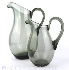 Glas Krug Paar • Design Richard Süßmuth Glashütte Penzig / Schlesien um 1927