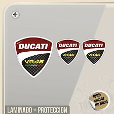 PEGATINA KIT DUCATI 46 ROSSI ESCUDO SHIELD VINILO VINYL STICKER DECAL AUFKLEBER