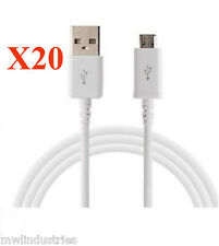 NEW! (20X)  3ft Rapid Charge Micro USB Cable Fast Charging Cord  Samsung Android