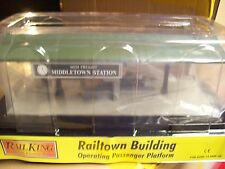 MTH Railking O Trains Middletown Station Operating Freight Platform 30-9184