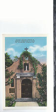 Shrine of Nuestra Senora De La Leche  St Augustine FL  Unused Postcard 524