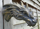 Large Dragon Head wall hanger table top display, outdoor VARIOUS COLOURS