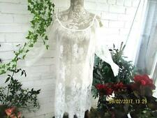 PRETTY LACE ON THE SHOULDER COVER UP TOP F/S BOHEMIAN FESTIVAL BEACH