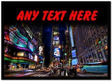 Times Square New York Personalised Computer Mouse Mat