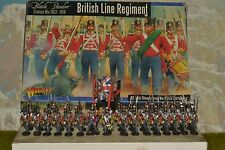 28mm DPS painted Black Powder Napoleonic Wars British Line Infantry,Warlord Game