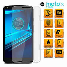 Motorola Moto X Force (2015) - Transparent Tempered Glass Screen Protector