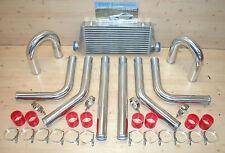 Ladeluftkühler SET *NEU* 33tlg Kit: LLK 45x18, Rohre 64 mm,Schellen,Schläuche r