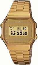 New!! CASIO Standard Mens Watch A168WG-9BWJF Gold Plated Genuine Japan Import