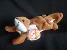 NWT TY BEANIE BABY SLY - THE FOX - HANDMADE IN INDONESIA