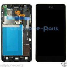 LG Optimus G LS970 Sprint E975 LCD Screen + Digitizer Touch & Bezel Frame, Black