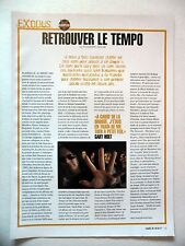 COUPURE DE PRESSE-CLIPPING :  EXODUS  04/2004 Gary Holt,Tempo Of The Damned