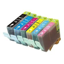 6-PACK Ink Cartridge Set (1 each color) for Canon PIXMA iP6000D Printer