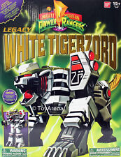 MIGHTY MORPHIN POWER RANGERS Legacy White Tigerzord Action Figure BNIB