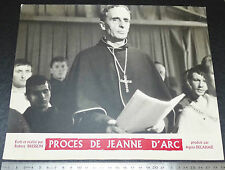 PHOTO CINEMA 1962 LE PROCES DE JEANNE D'ARC ROBERT BRESSON
