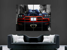 KOENIGSEGG  FASTCAR POSTER WALL ART PICTURE  LARGE GIANT SUPERCAR