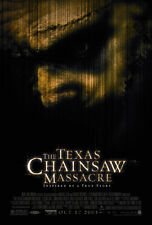 THE TEXAS CHAINSAW MASSACRE (2003) ORIGINAL MOVIE POSTER   -  ROLLED