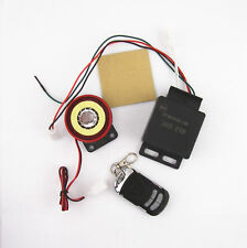 Motorcycle Vibration Sensor Alarm System Anti-theft Security Remote Control Kits