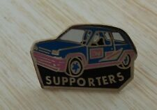 PIN'S VOITURE RALLYE RENAULT SUPER 5 GT TURBO SUPPORTERS