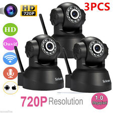 3 OEM Set of Sricam 720P Wireless IP Camera WiFi Security Night Vision Cam OY