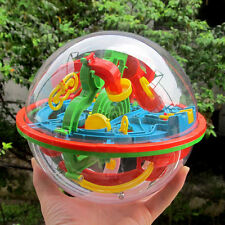 100 Barriers 3D Kids Large Intellect In The Ball Maze Addictaball Puzzle Toys OR