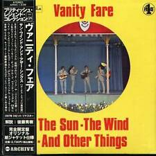 VANITY FARE The Sun Wind AND Other Things Japan CD NEW