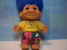 "I'M A BIG BROTHER - 5"" Russ Troll Doll - NEW IN ORIGINAL WRAPPER"