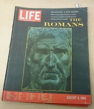 Vintage Life Magazine - International Edition - August 8 1966 - Romans
