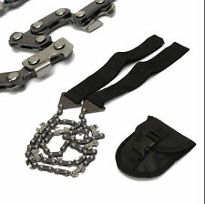 Survival Chain Saw Hand ChainSaw Emergency Camping Kit Tool Pocket small tool