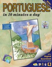 PORTUGUESE in 10 minutes a day®, Kershul, Kristine K., New Book