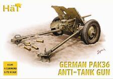 Sombrero 1/72 Pak 36 antitanque Gun # 8149