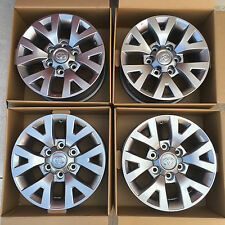 "2016 Toyota Tacoma 16"" Wheels Alloy Rims OEM - Set of 4 w/ Center Caps & Lugnuts"
