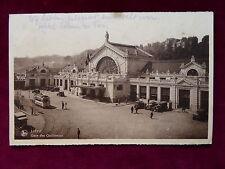 Carte Postale Belgique, Liége / Lüttich, Gare des Guillemins, 1937 nach Ostende