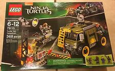 TMNT Teenage Mutant Ninja Turtles Lego Set 79115 Turtle Van Takedown