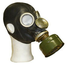 Gas Mask GP-5M Respiratory Protection Soviet Army Civil Black Rubber Latex PMG-2