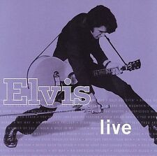 ELVIS PRESLEY LIVE CD 20 TRACKS LIVE LAS VEGAS & HAWAII [NEW]