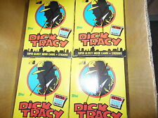 TOPPS DICK TRACY TRADING CARDS BOX FROM MY CASE 36 PACKS WALT DISNEY MADONNA