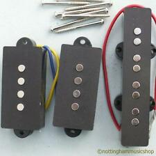 MATCHED SET OF 3 ELECTRIC BASS GUITAR PB/JP PICKUPS NEW PRECISION JAZZ CERAMIC
