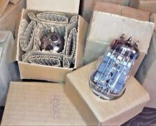 4 pcs. 6S33S / 6C33C Hi-End Amp Triode NEW TUBES NOS one date! one series! NIB!